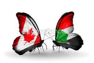 depositphotos_36924461-Two-butterflies-with-flags-on-wings-as-symbol-of-relations-Canada-and-Sudan